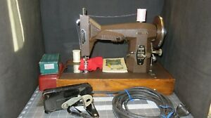 "Sears 117-813 ""Kenmore"" Rotary Sewing Machine w/ Attachments, Foot Control"