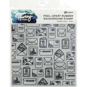 Simon Hurley - Cling Stamps Set - Happy Mail