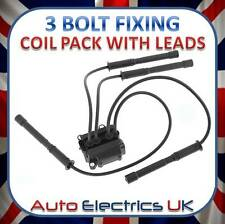 NEW RENAULT CLIO II 1.2 2001 IGNITION COIL PACK SPARK PLUG LEADS 8200084401