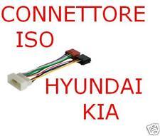 CONNETTORE CAVO ISO AUTORADIO HYUNDAI KIA  04734