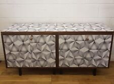 SOLD CAN TAKE COMMISSIONS Vintage Midcentury Sideboard. Painted Furniture.