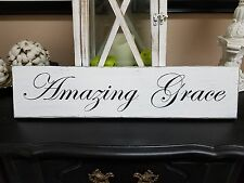 Amazing Grace sign, rustic wood sign, farmhouse style sign, fixer upper