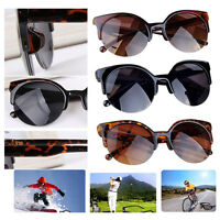 Women's New Oversized Sports Outdoor Sunglasses Fashion Cat Eye Vintage Glasses