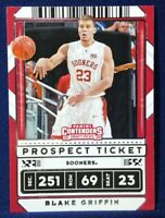 2020-21 Contenders Draft Picks Blake Griffin #28 Prospect Ticket - Sooners