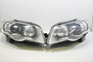 LHD VW PASSAT B6 3C Adaptive Cornering Headlamp Set R+L Headlight light lamp