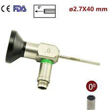 0 Rigid Endoscope Otoscope Fit Storz Olympus Wolf Stryker 27x40mm Ear Mirror