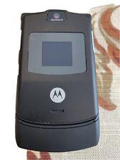 Motorola Razr V3 Flip Mobile Phone Original Gsm Cellphone Cingular Att