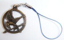 Bronze Mockingjay Phone Charm Gift Bag iphone Nokia Samsung Hunger Games Hauwei