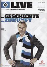 Neues AngebotProgramm Hamburger SV - FC Bayern München 04.02.2012 - 1. Bundesliga 2011/2012