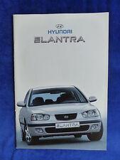 Hyundai Elantra-folleto brochure 02.2001