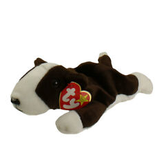 Ty Bruno Bull Terrier Beanie Babies Dog with Mint with Mint Tags