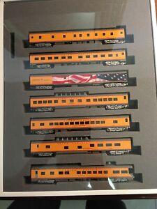 KATO UP Excursion 7 Car Set N Scale Train Railroad New $1
