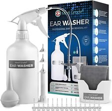 Medi Grade Ear Wax Remover [25pc] – 500ml Ear Cleaner for Humans