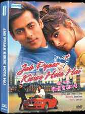 Jab Pyaar Kisise Hota Hai - Salman Khan - Hindi Movie DVD / Region Free / Subtit