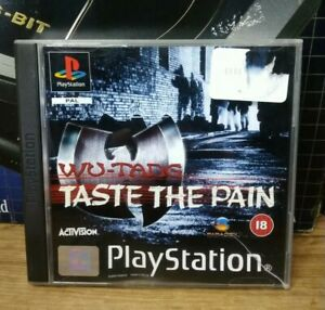 WU-TANG TASTE THE PAIN Sony PlayStation 1 Game PS1