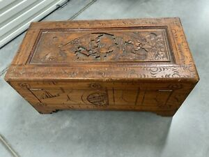 Camphor Wooden Chest / Glory Box
