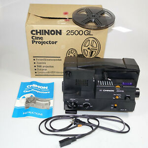Chinon 2500GL Cine Projector.  *Parts.     #DR6826