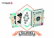 SKULL THEME PLAYING CARDS 'CALAVERA' Day Of The Dead Poker Size (1 Deck) NEW