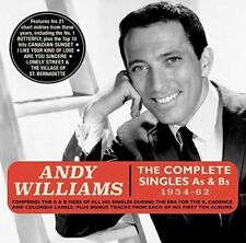 Complete Singles As & Bs 1954-62 - Andy Williams (2018, CD NEUF)