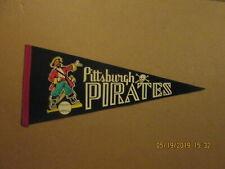MLB Pittsburgh Pirastes Vintage Circa 1960's Multi Colored Logo Baseball Pennant