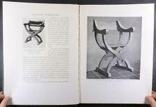 Antique Italian Furniture Medieval Renaissance 18th Century -1918 Odom Set