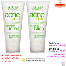 PACK OF 2 Alba Botanica Natural Acne dote Oil Control Lotion 57g