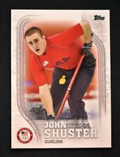 2018 Topps US Winter Olympics Base #USA-44 John Shuster