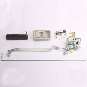 Cab Door Lock Assembly Fit For Kobelco SK140 SK200 SK210 SK230-6E-8 Excavator