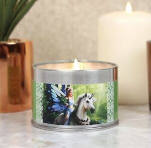 Anne Stokes Realm Of Enchantment Tin Candle