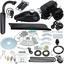 80cc Bike 2 Stroke Gas Engine Motor Kit DIY Motorized Bicycle Cycle Black Body