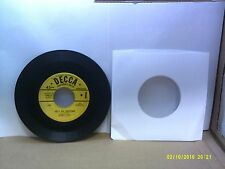 Old Children's 45 RPM Record - Decca 9-88139 - Burl Ives - Let's Go Hunting / Th