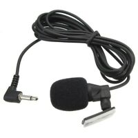 Microphone Audio Pvc Wired 3.5 Mm Stereo Jack Mini Car External Mic Pc Car Dvd