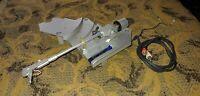 JVC QL-A200 Complete TONEARM & C-WEIGHT, Arm REST, RCA Plugs/Cord Partial PLINTH