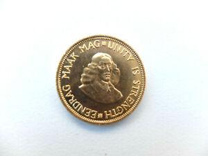 2 Rand 1962 Südafrika South Africa Gold