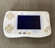 Bandai WonderSwan Color console Final Fantasy White WORKS BUTFAULTY POWER SWICTH