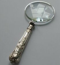 William Yates HM Silver Handle Magnifying Glass Sheff 1924