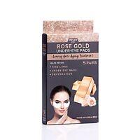 AZURE Rose Gold Luxury Anti-Aging Under Eye Pads Patches 5 Pairs Lifting Smoothi