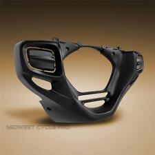 Black Lower Cowl for Rectangular Fog Lights for Honda GL1800 Goldwing (52-908BK)