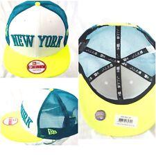 New Era Casquette Camionneur, New York Vert Citron Casquette de Baseball, 9fifty