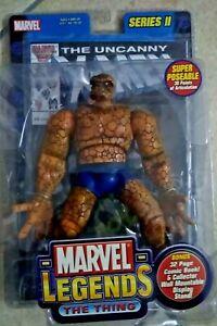 MARVEL LEGENDS SERIES II THE THING (+ fumetto Uncanny X-Men 213) action figure