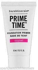 bareMinerals PRIME TIME Original Foundation Primer For Face 15ml TRAVEL SIZE