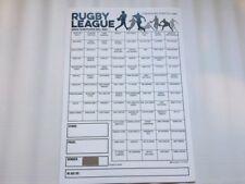 Rugby LEAGUE GRATTA E VINCI X1 solo 88 spazi-modo semplice per raccogliere fondi