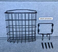 Pride Mobility JUMBO FRONT BASKET, fits Victory XL4, Hurricane, Wrangler.  NEW !