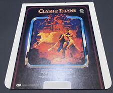 Clash of the Titans 1981 CED RCA Selectavision VideoDisc - Classic, Rare VTG