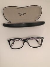 Ray Ban Brille Brillenfassung schwarz matt