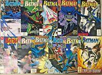BATMAN#462-483 VF/NM LOT 1991 (11 BOOKS) DC COMICS