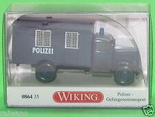 1:87 Wiking 086435 Polizei Gefangenentransport (Opel Blitz) Blitzversand per DHL