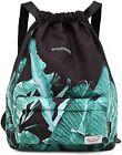 Waterproof Drawstring Bag, Gym Bag Sackpack Sports Backpack for Men Women Girls