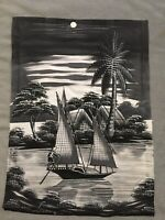 Silk Paintings From Vietnam- Dad Brought Back From War 60's