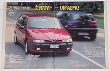 Test Drive Prova 1994 ALFA ROMEO 145 1.6 L